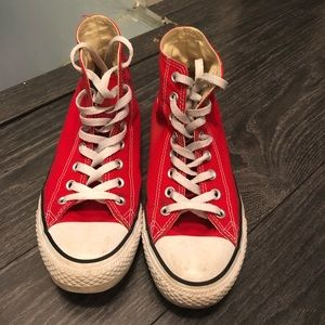 Red Converse, Great Condition!!